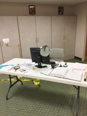 The Detective's Desk