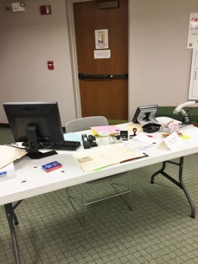 The Library Director's Desk